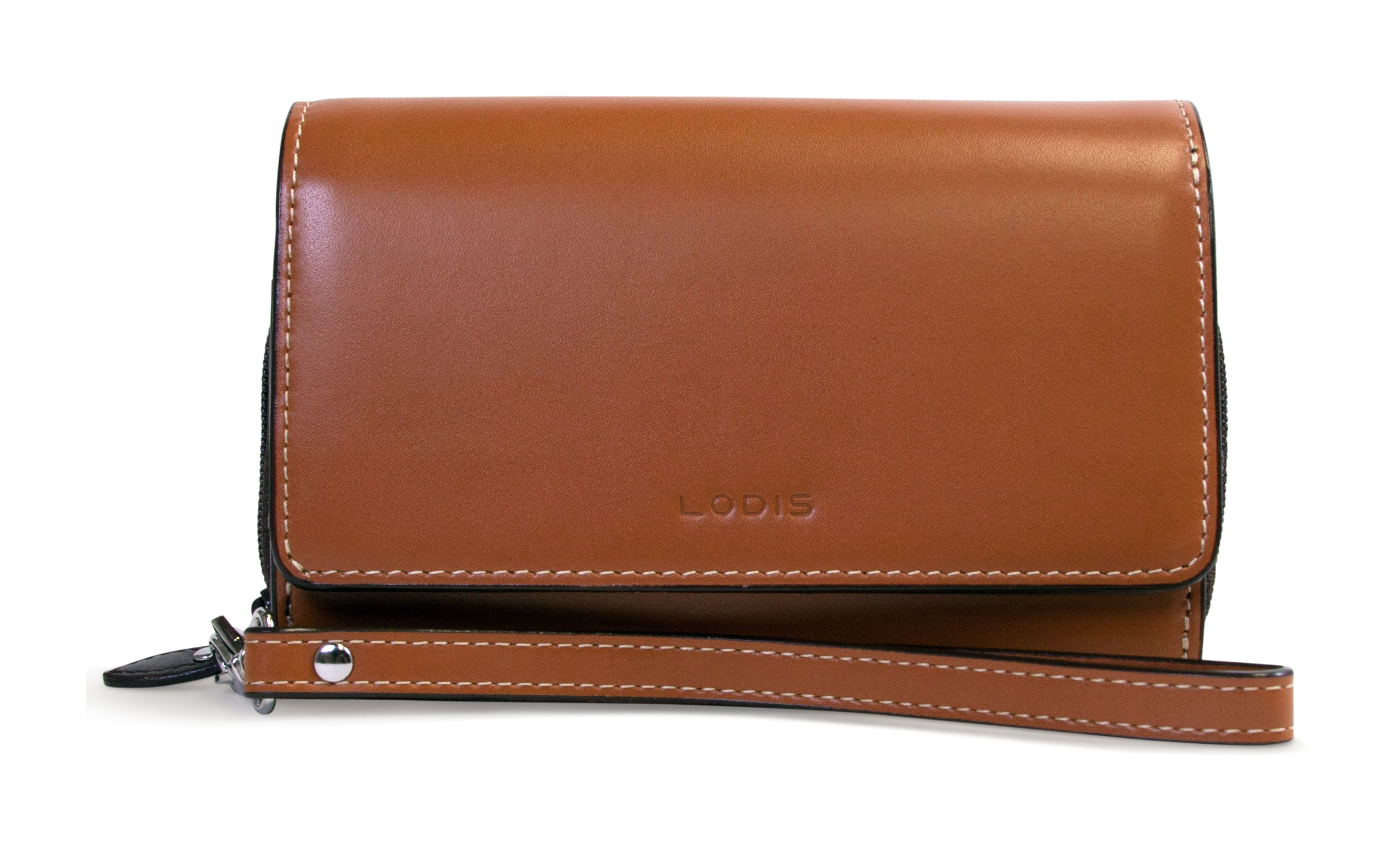 Lodis AUDREY BEA PHONE WALLET Toffee
