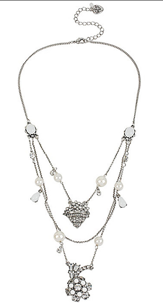 Betsey Johnson Jewelry SOMETHING NEW ILLUSION NECKLACE