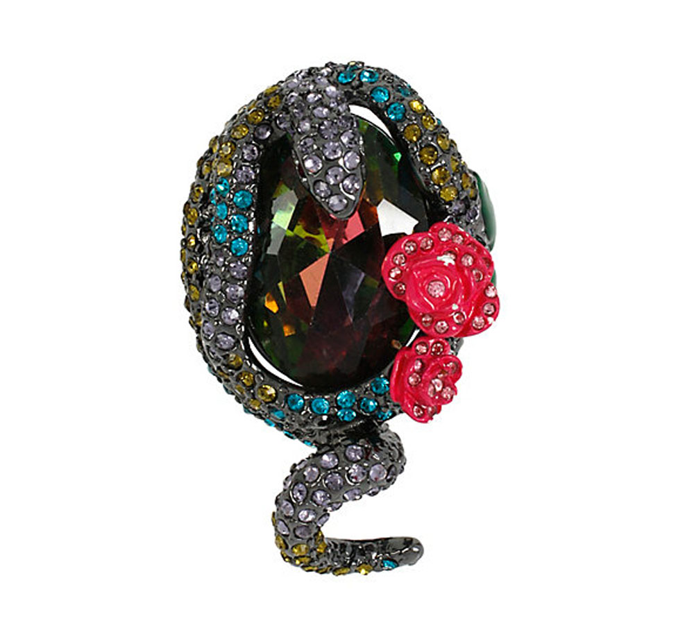 Betsey Johnson Jewelry HOLIDAY PARTY SNAKE RING