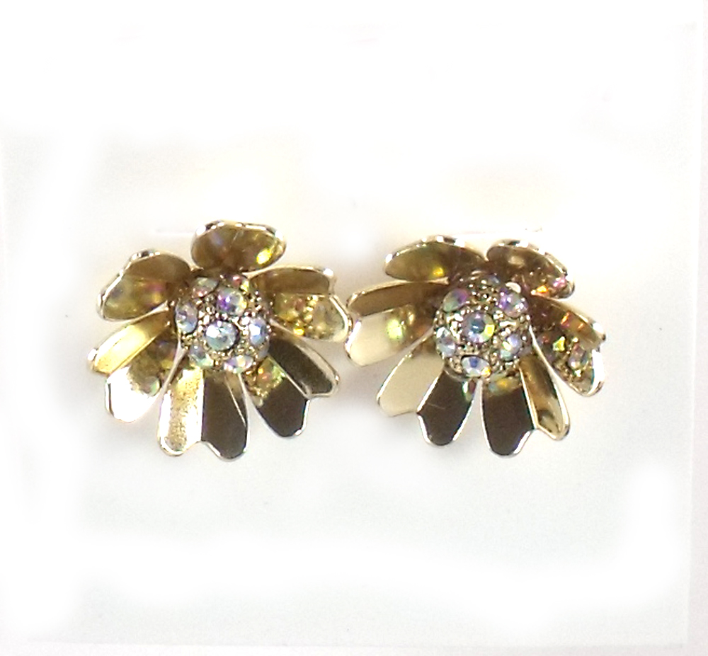 Betsey Johnson Jewelry I Dream Of Betsey Flower Stud Earrings