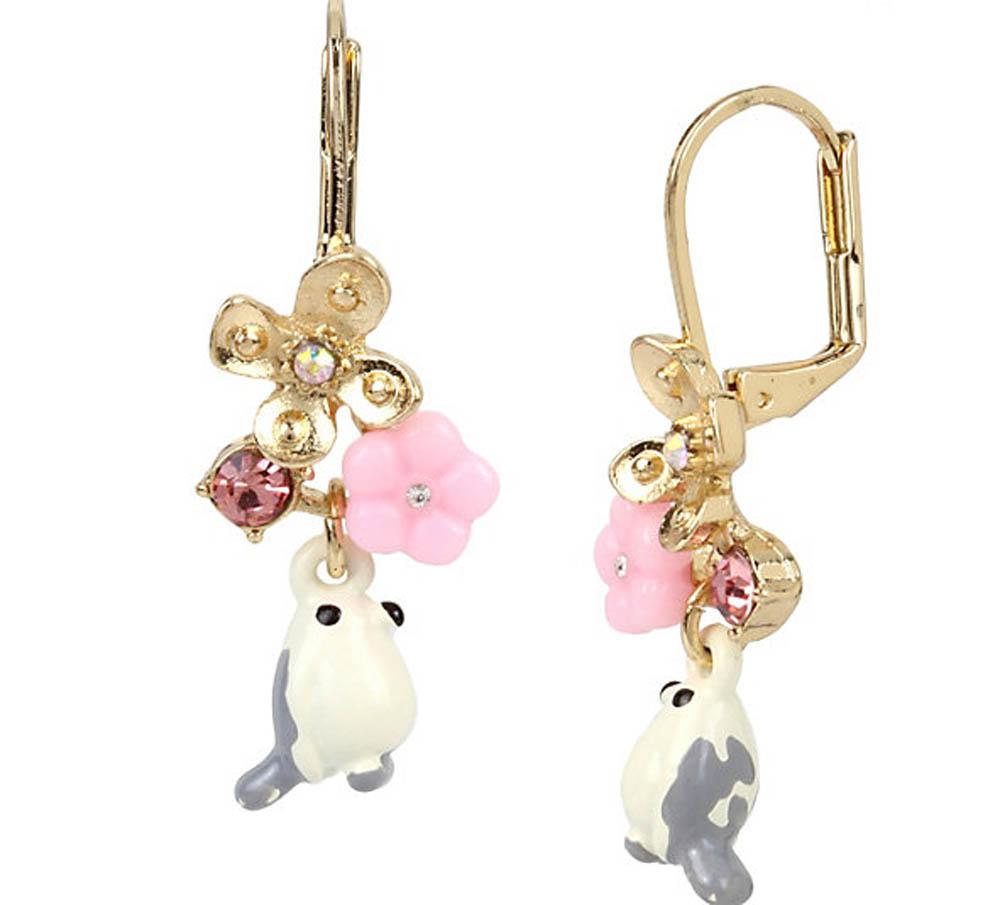 Betsey Johnson - - Betsey Johnson Jewelry MARIE ANTOINETTE WHITE ...