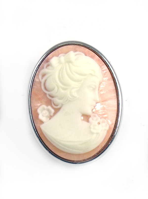 Tarina Tarantino Jewelry Iconic Blush Cameo Ring
