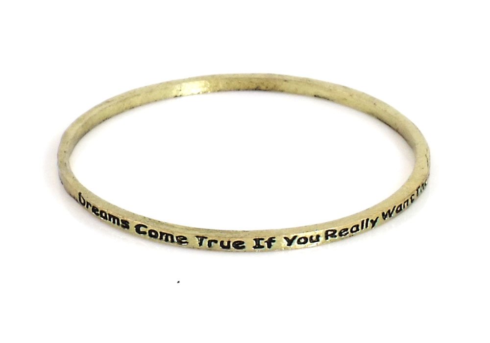 Urban Chic Jewelry Inspire Bangle Bracelets Dreams