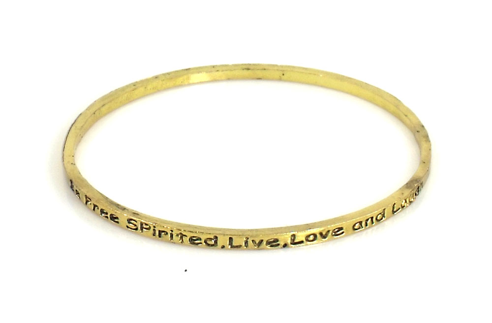 Urban Chic Jewelry Inspire Bangle Bracelets I'm Free