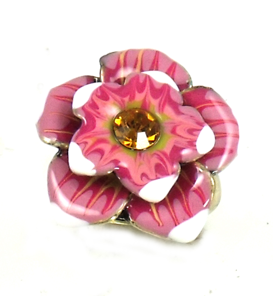 Betsey Johnson Jewelry Carribbean Queen Flower Ring